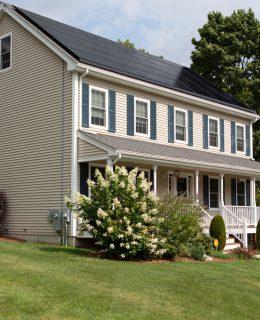 Stort hvidt hus