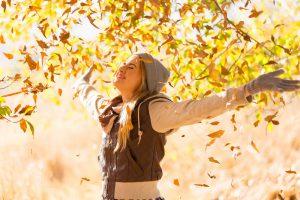 bliv en kvinde der er udrustet til efteråret - løs med her